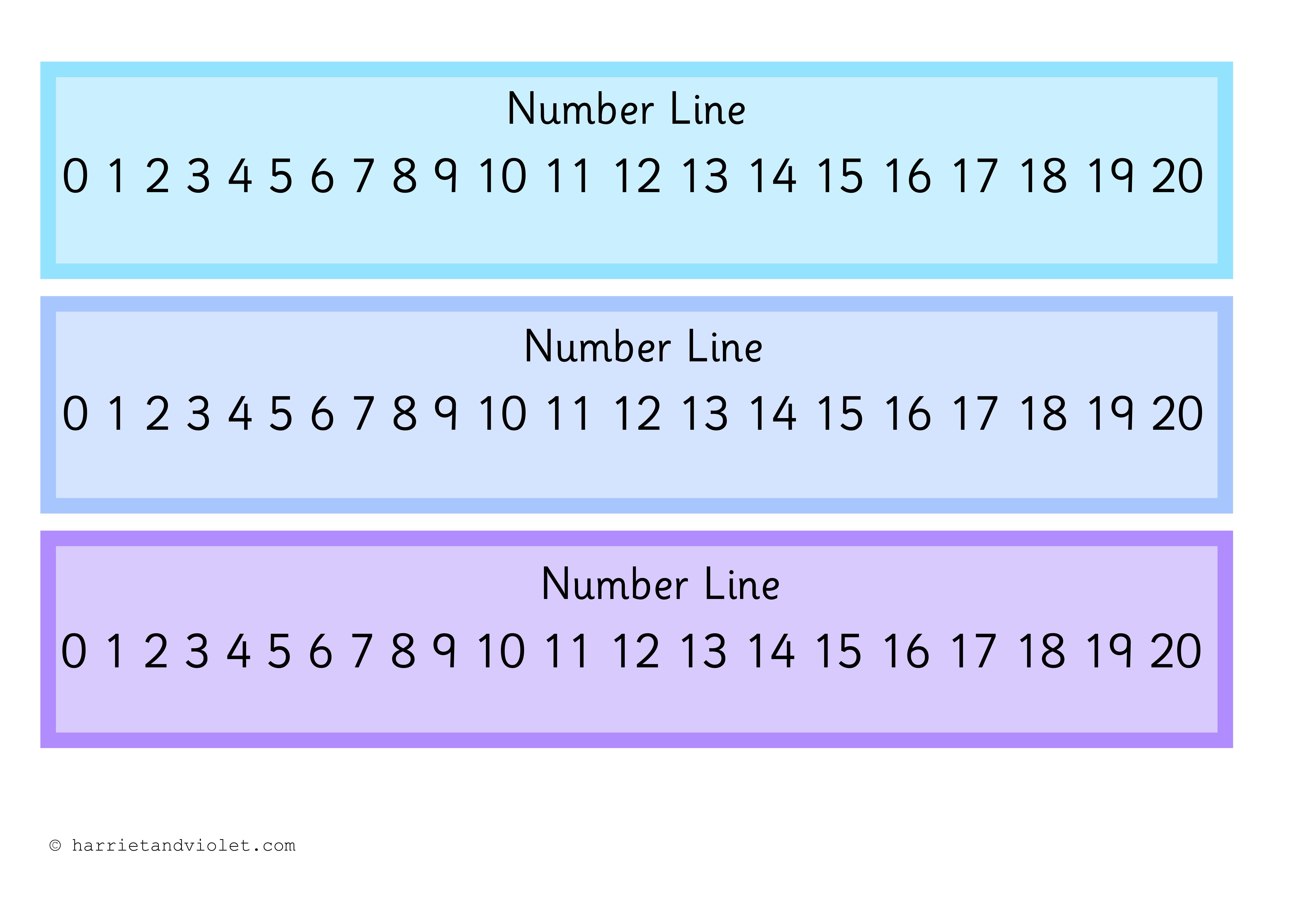 Worksheet Ks1 Number Line free teaching resources eyfs ks1 ks2 primary teachers number line 0 20 harriet violet resources