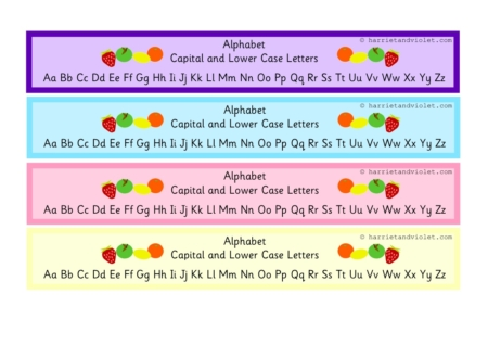 Teaching Resources, EYFS, KS1, KS2, Primary Teachers - Fruit Alphabet ...