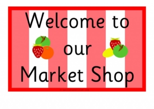 Market Shop Role-Play Signs H&V-01