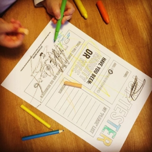 I love @gooutsidethelines There's a super free printable perfect for sending or taking to Father Christmas Hope he likes his letter .