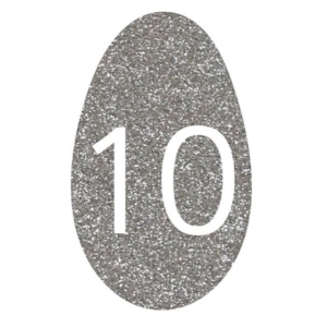 Add some sparkle to your classroom or playroom ~ Easter egg glitter number line 0-10