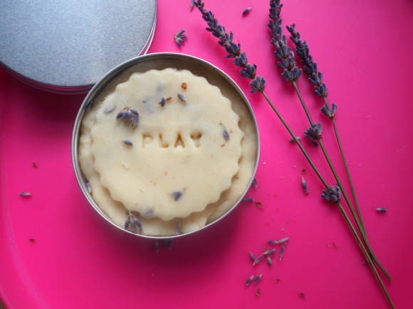 natural playdoh lavender