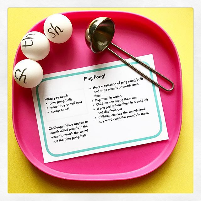 ping pong phonics game