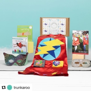 This looks amazing! I think I'm going to have order for next weeks theme of Superheroes️ This will be the first time I've tried @trunkaroo so exciting! @trunkaroo with @repostapp ・・・ Ever wondered what your superpower is (besides being an awesome parent)? Why not find out with our very own superhero themed trunk!