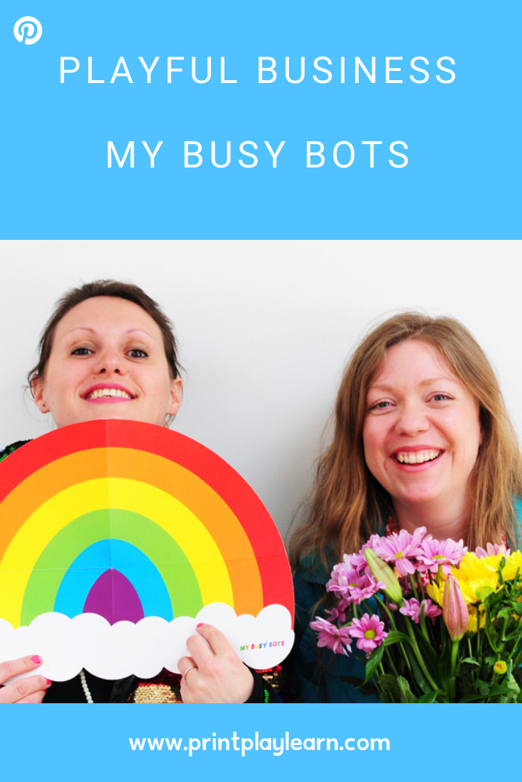 printplaylearn get inspired with my busy bots