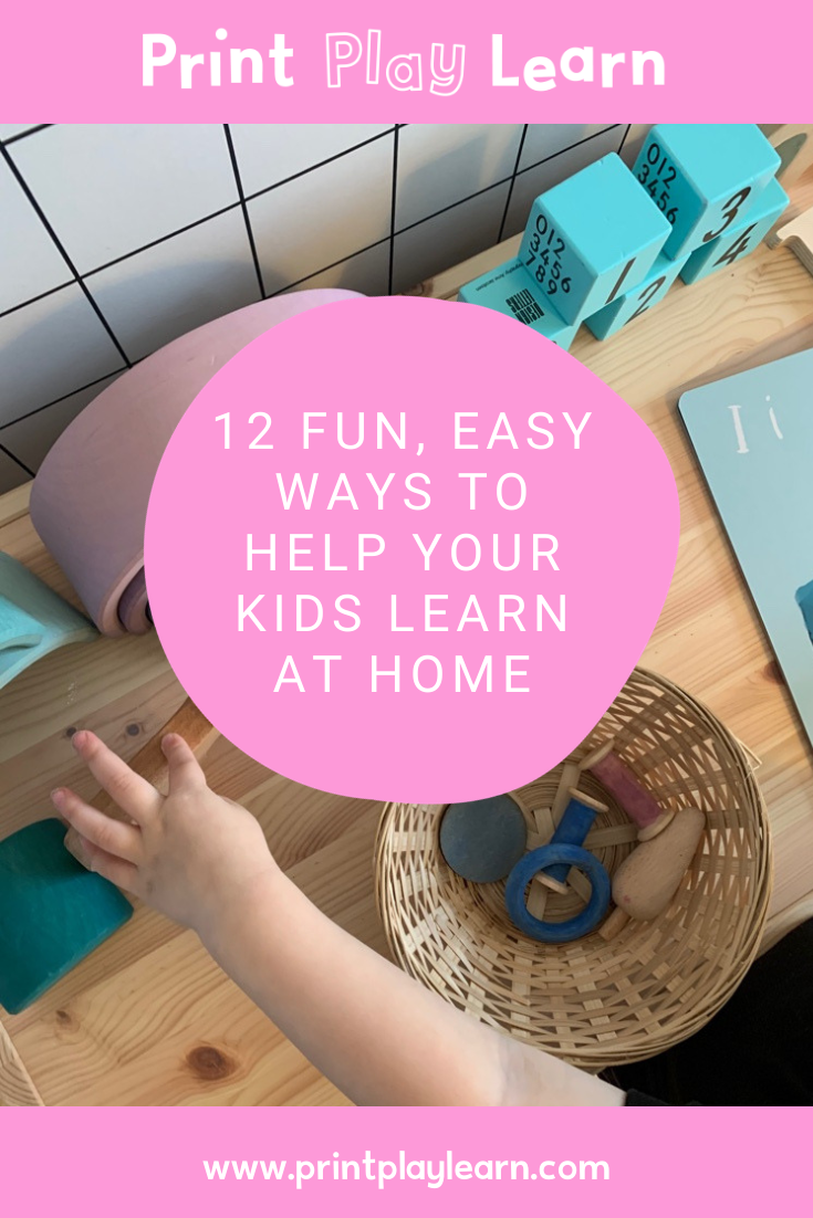 printplaylearn 12 fun easy activities for kids to learn at home