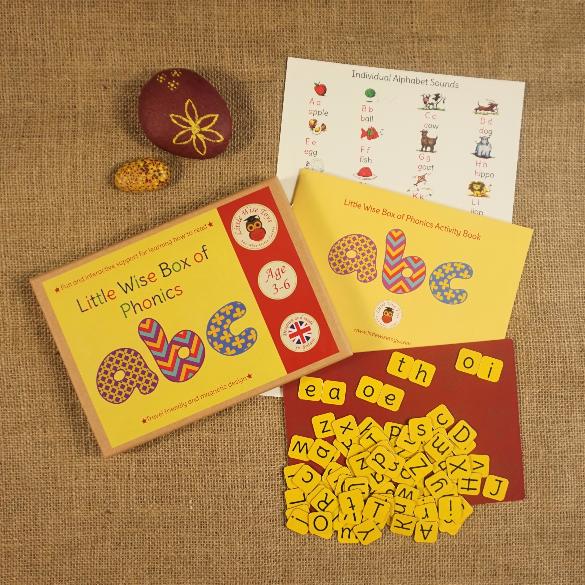 Little Wise Toys Print Play Learn phonics