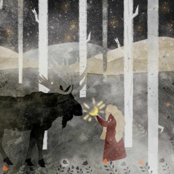 maiden moose print