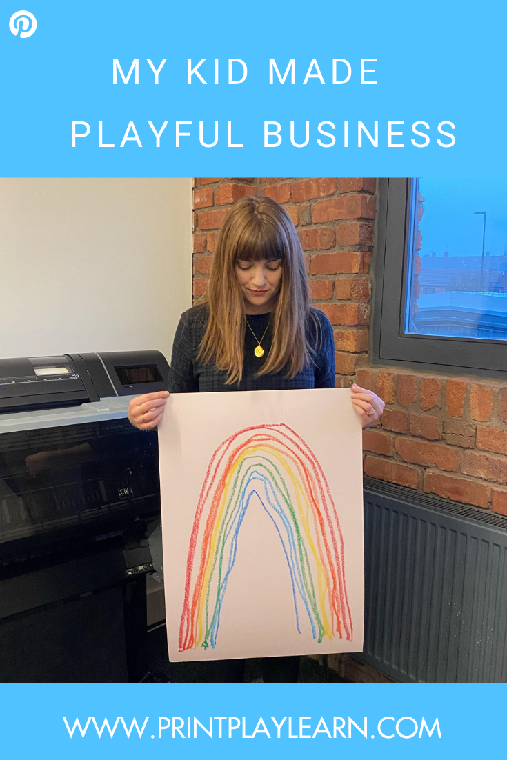 my kid made playful business printplaylearn guest blog post