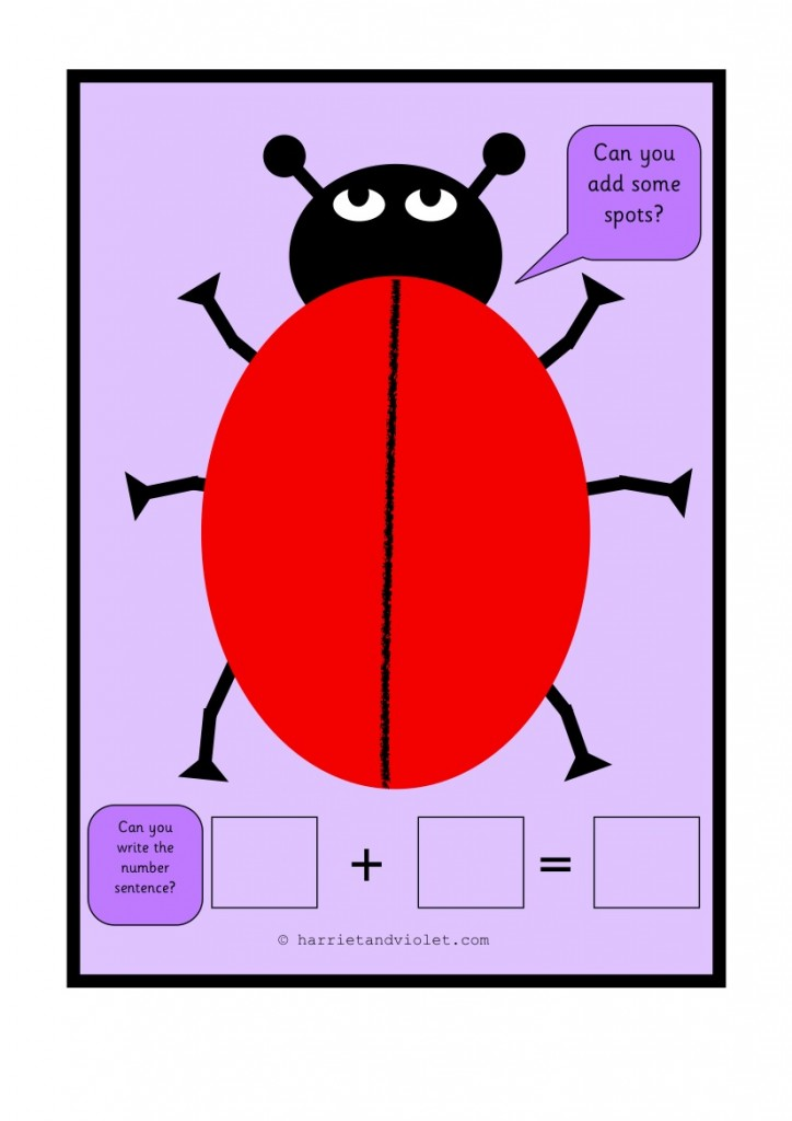 Free Teaching Resources, EYFS, KS1, KS2, Primary Teachers - Ladybird Playdough Mats Add Spots ...