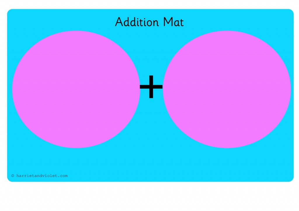 Maths Addition Mat - Free Teaching Resources - Print Play Learn