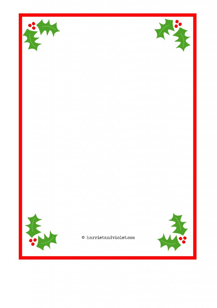 Santa Paper Borders Free teaching resources, eyfs, ks1, ks2, primary ...