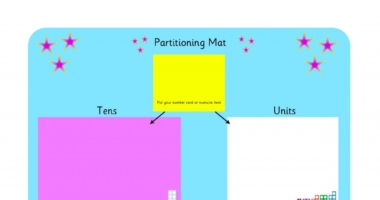 Partitioning Mat – Tens & Units