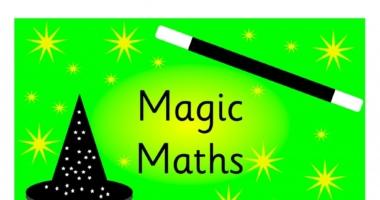 Magic Maths A4 Sign Display