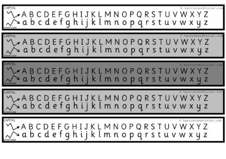 Number Names Worksheets : lower case alphabet chart ~ Free ...