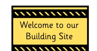 Construction Signs for Role Play