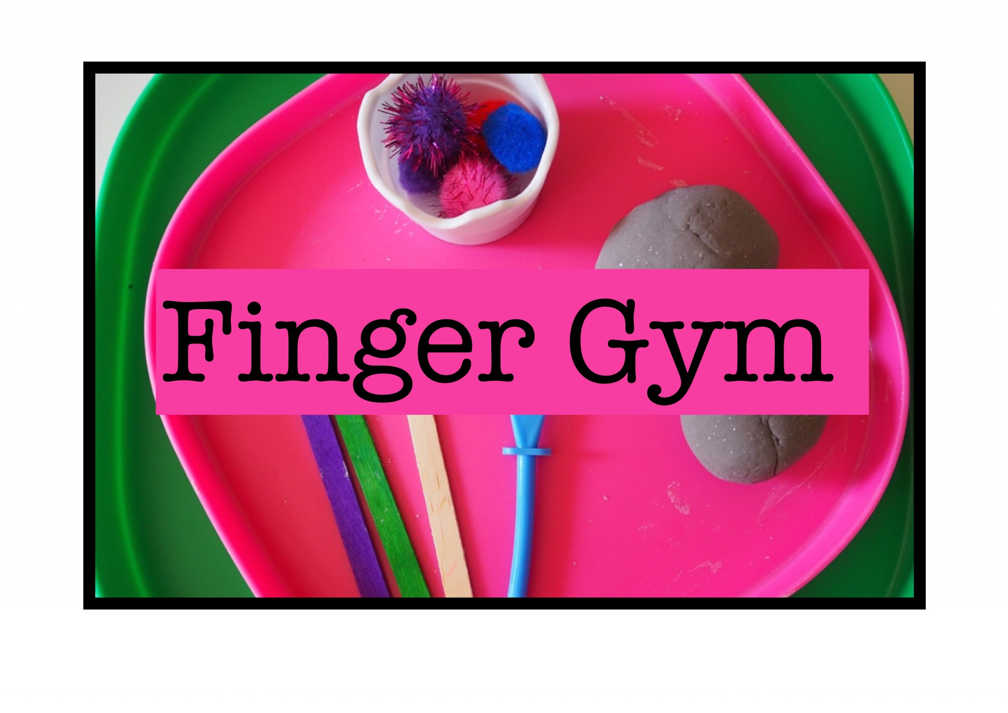 Malleable Finger Gym Play Dough Expressive Arts