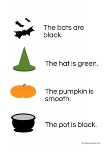 halloween-match-pictures-with-the-sentences-2