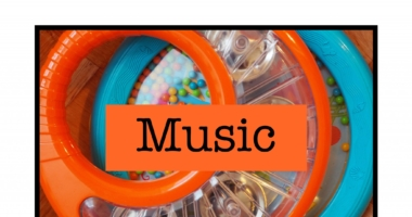 Music // Expressive Arts // Instruments Area Sign