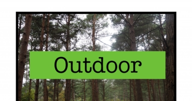Outdoor // Outside // Forest // Wood Photo card sign