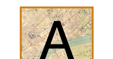 London Map Instant Display Lettering for a classroom