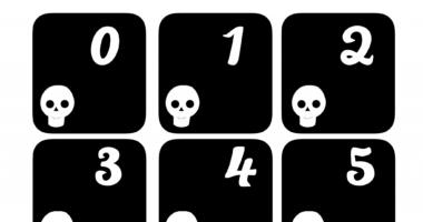 Funny Bones – Skeleton Number Cards 0-40
