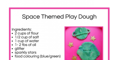 Space Themed Play Dough Recipe – cooked recipe