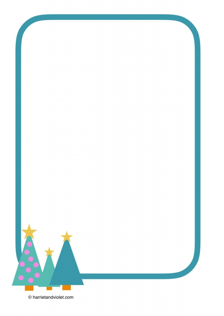 Help with paper writing christmas border