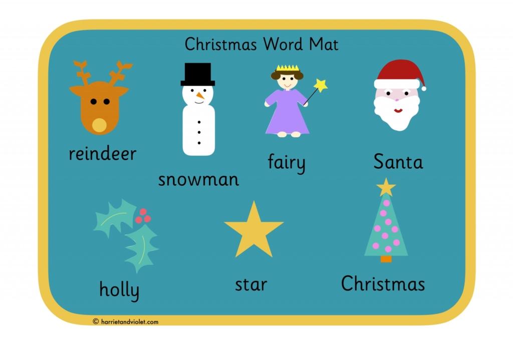 Word banks word mats page 1 free teaching resources print premium christmas word mat spiritdancerdesigns Gallery
