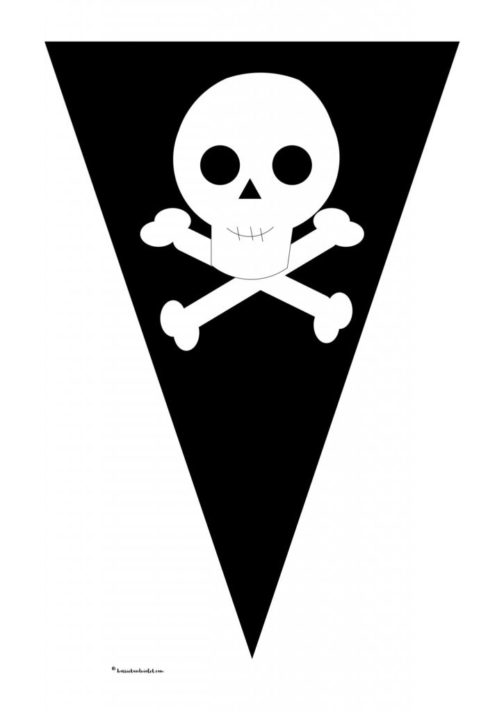 pirate bunting  u0026 39 pirate ship u0026 39  instant display title
