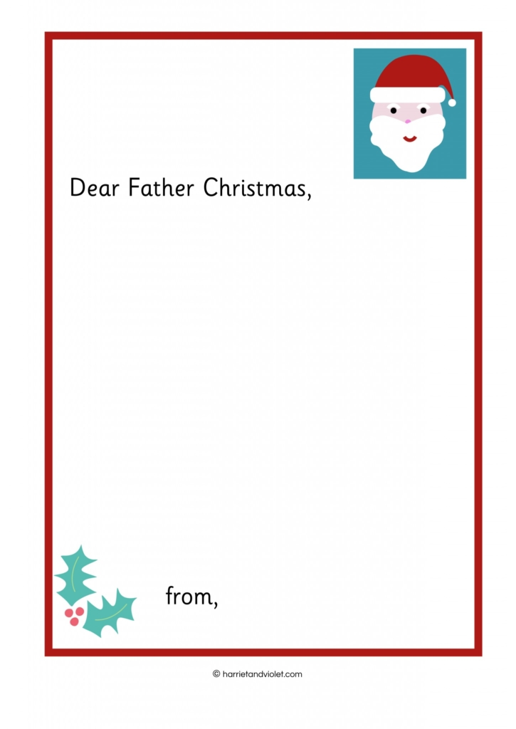 Writing a letter to father christmas free teaching resources writing a letter to father christmas spiritdancerdesigns Image collections