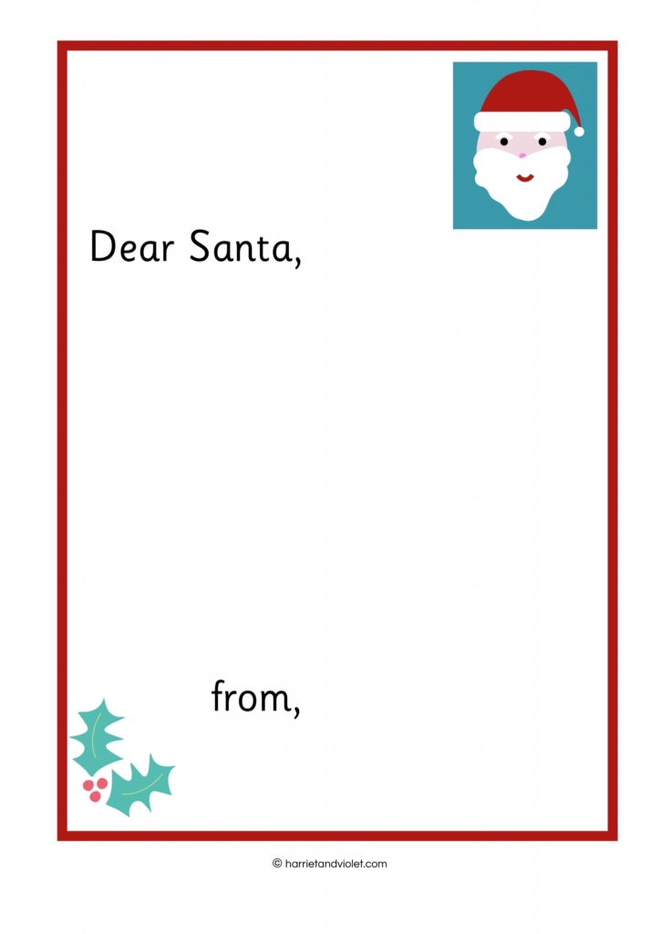 Writing a letter to father christmas free teaching resources writing a letter to santa spiritdancerdesigns Choice Image