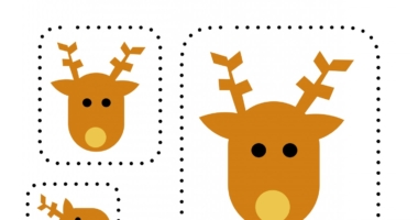 Christmas cutting out and size order – differentiated