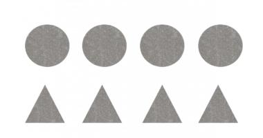 Glitter shapes 2D shape