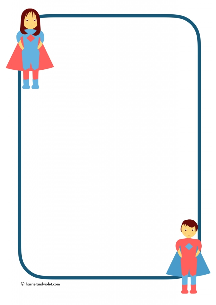 superhero border template elita aisushi co