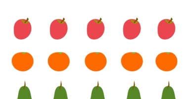 Fruits – describe/make patterns