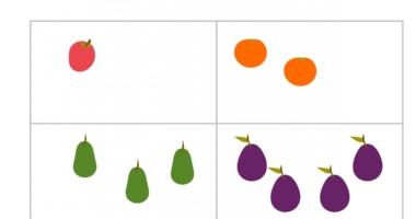 Fruit – how many?