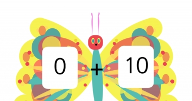 Number bonds 0-10 The Very Hungry Caterpillar Style – ink save