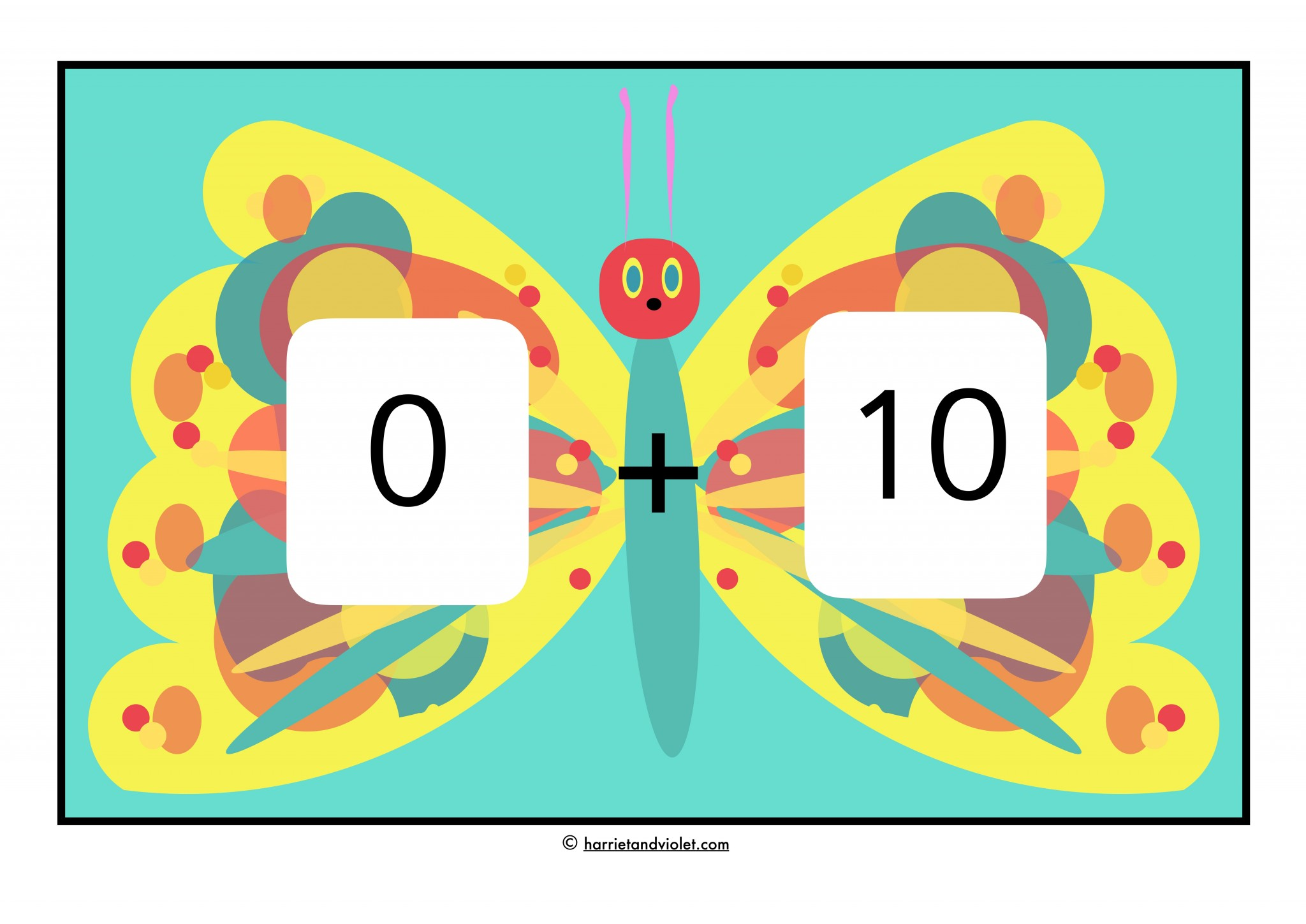 worksheet Number Bonds To 10 number bonds 0 10 the very hungry caterpillar style free teaching resources harriet violet