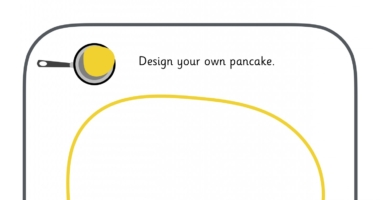Pancake Day (Shrove Tuesday) – Design your own pancake toppings