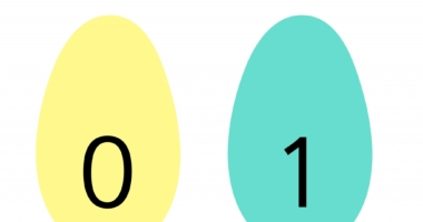 Easter – display or flashcards numbers on eggs 0-20