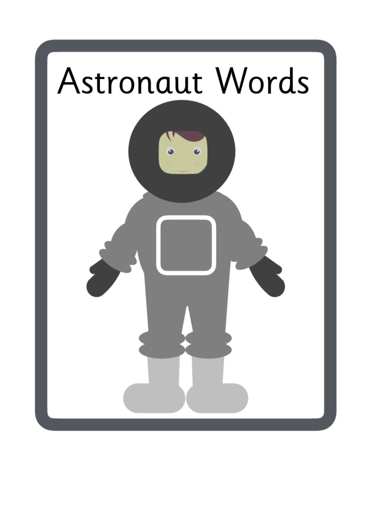 astronaut word - photo #4