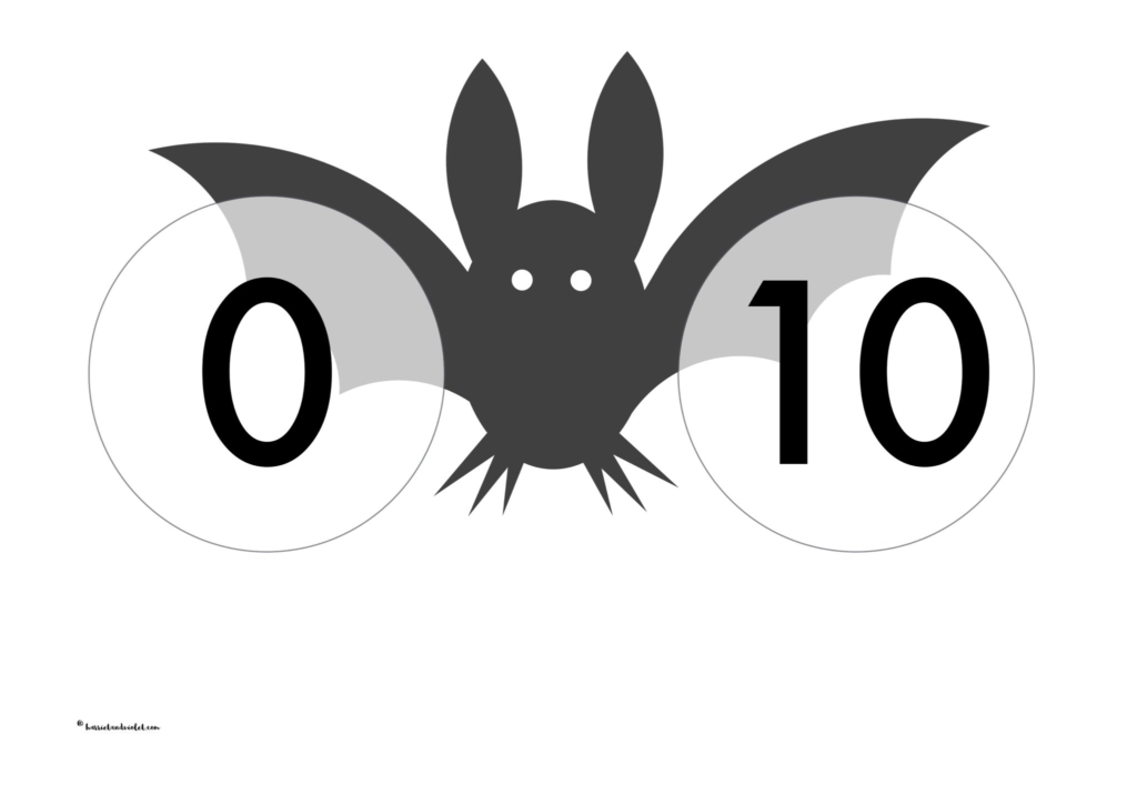 Bat number bonds to 10 - Free Teaching Resources - Print Play Learn