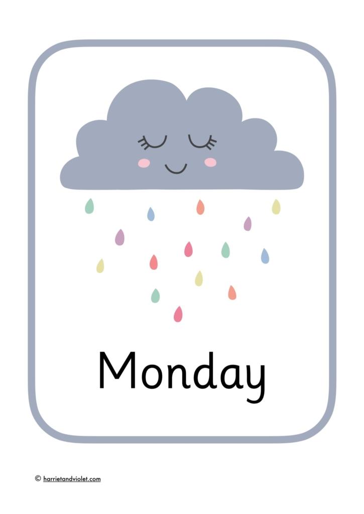 weather days of teh week