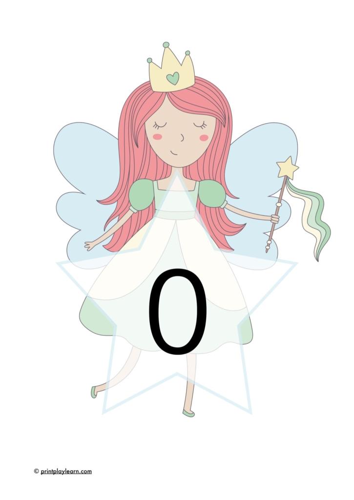 EYFS fairy number line 0-30