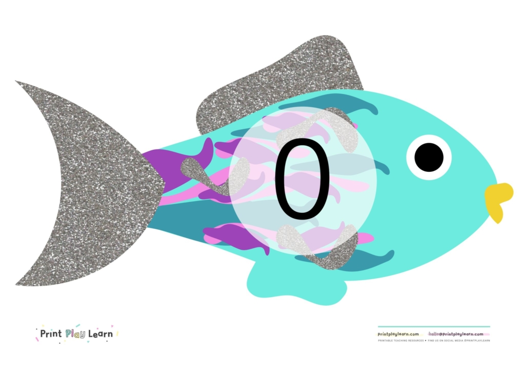 rainbow fish numbers 0-10