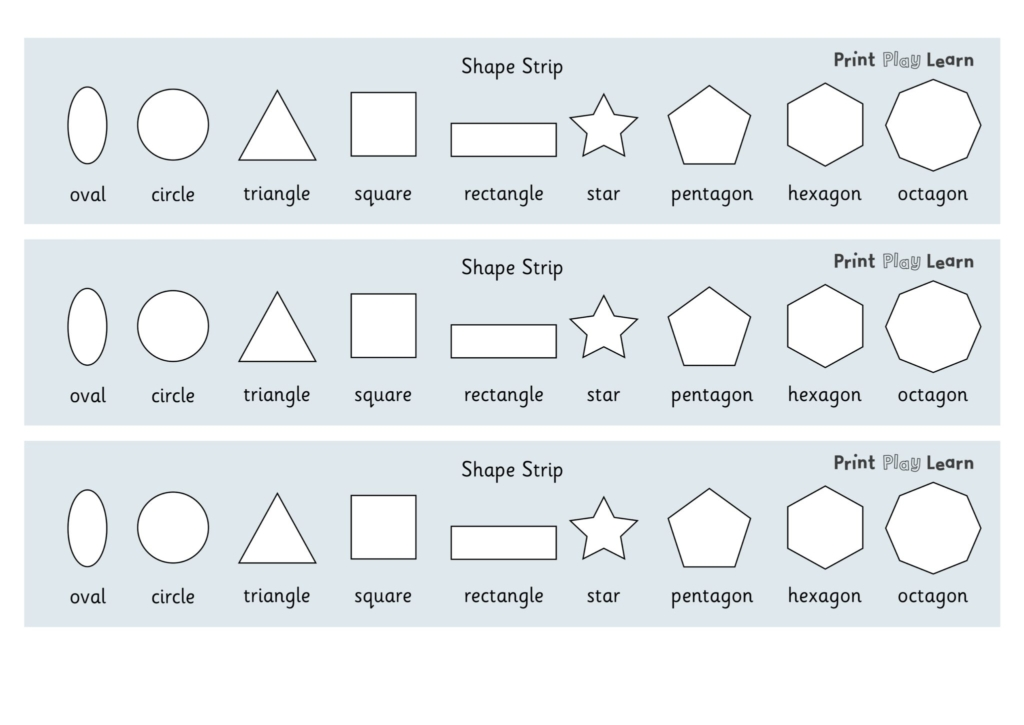 2d shape strip primary eyfs