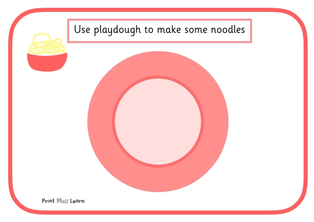 EYFS primary school playdough mat