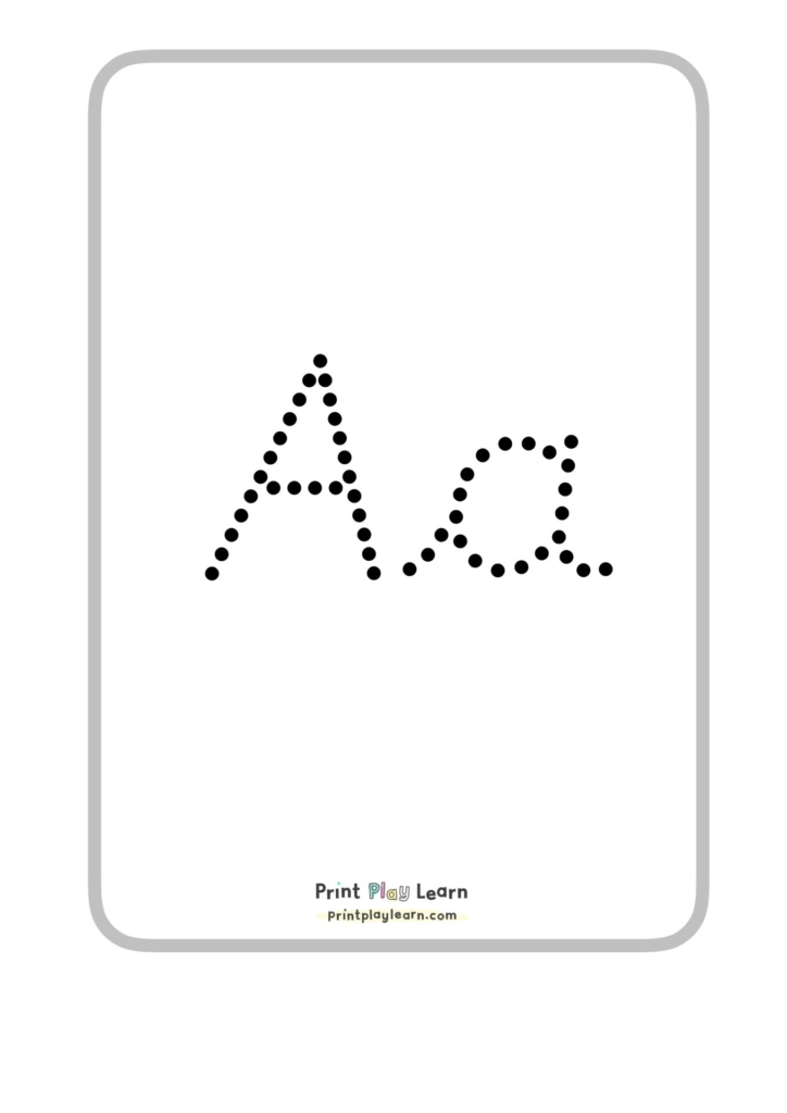 cursive dotted alphabet classroom display posters upper and lower ppl