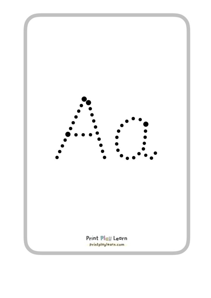 pre cursive a4 posters alphabet tracing display